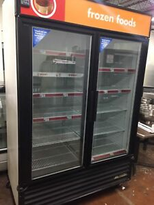 True Gdm 49f Freezer Glass Double Doors
