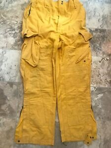 Barrier Wear Firefighter Brush Wildland Pants Yellow Extra Large X 32 Xl 32