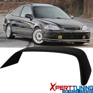Fits 96 00 Honda Civic Coupe Em2 Type R Unpainted Trunk Spoiler Wing Abs