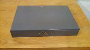 Mmf Industries Extra wide Steel Cash Box With Keys
