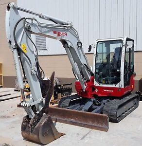 Genuine Takeuchi 2017 Tb260 Excavator With Thumb