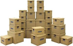 Bankers Box Smoothmove Classic Moving Kit Boxes Tape free Assembly Easy Carry
