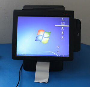 Posbank Imprex D5 Aio Pos System Computer 15 Touchscreen Windows Installed