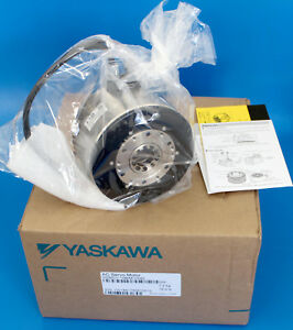 Yaskawa Sgmcv Direct Drive Ac Servo Motor 200vac 3ph 10nm 13mm dia 300rpm