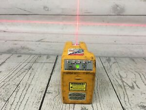 Used Pacific Laser System Pls 180 Laser Level Red Beam