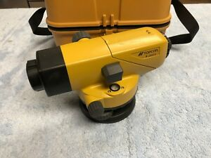 Topcon At b4 Autolevel Automatic Auto Level Surveying W Carrying Case