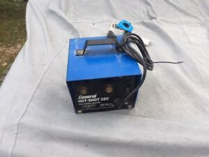 Used General Hot Shot 320 Pipe Thawing Machine Frozen Thawer Plumbing Tool