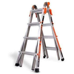 Little Giant 12017 Revolutionxe 300 pound Duty Rating Multi use Ladder 17 foot
