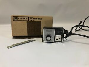 Vintage Lincoln No L 201 Motor Speed And Light Control