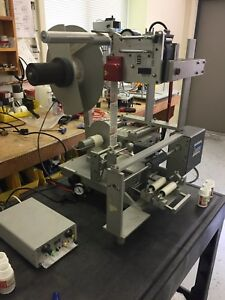 Universal R310 Bottle Labeller With Open Date Eurocode 180 Hot Stamp Printer