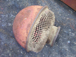 Original Ih Farmall H Tractor air Cleaner Bonnet 1944