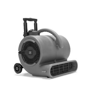 B air Vp 50 1 2 Hp Air Mover Floor Fan Carpet Dryer Air Blower W Wheels Handles