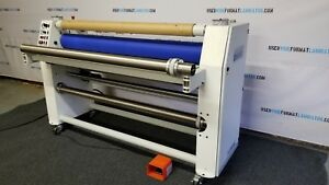 Seal 600d Dual Heat Roll Laminator Handles Media 61 Wide