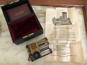 Antique Chas Lowinson s Thread Counting Micrometer 540a Original Case
