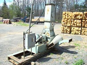 Jacobson Hammer Mill Model Ind Ajac 20 Hp
