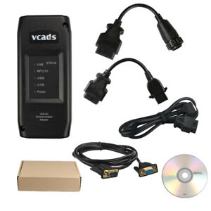 Usa Ship Vcads Pro V2 40 Fit For Volvo Truck Diagnostic Scan Tool Update By Cd