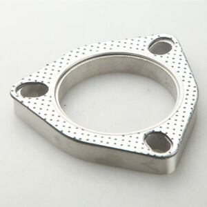 3 Bolt 2 25 Stainless Exhaust Flange And Exhaust Gasket For 3 Bolt Flange Us