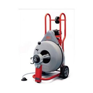 Ridgid 51402 K 750 Drain Cleaner Machine 5 8 Pigtail