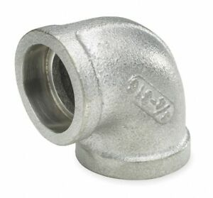 304 Stainless Steel Elbow 90 Socket Weld 2 Pipe Size Pipe Fitting