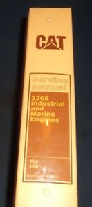 Cat Caterpillar 3208 Industrial Marine Engine Service Shop Repair Manual 90n 75v