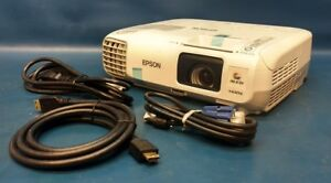 Epson Powerlite 97h 3lcd Projector H688a 2xhdmi 2700 Lumen 1080i Under 2000 Hrs