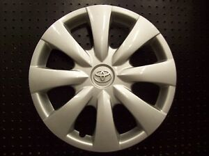 Oem Toyota Corolla Hubcap Wheel Cover 09 10 11 2012 2013 15 Silver Emb 61147