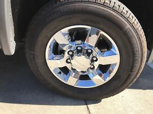 Truck Lt265 70r18 Michelin Set Of Tires And Wheels