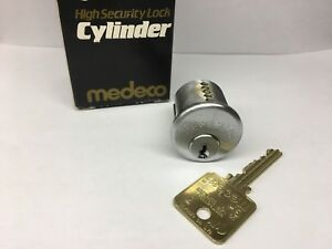 New Medeco Biaxial Mortise Cylinder Lock And 1 Key