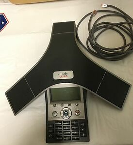 Cisco Cp 7937g Unified Ip Conference Station Voip Phone Poe Requires Cisco Comm