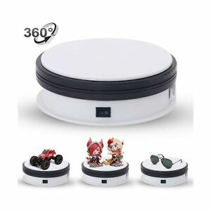 Motorized Turntable Display yuanj 360 Degree Electric Rotating Display Turnta