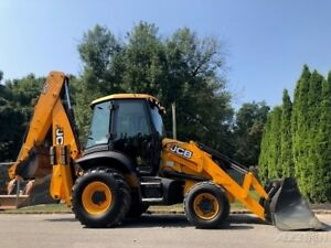 2010 Jcb 3cx Backhoe Loader 4x4 Full Cab Ac Diesel Back Hoe Tractor