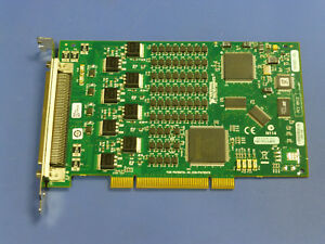 National Instruments Pci 6512 Ni Daq Card 64ch Digital Output