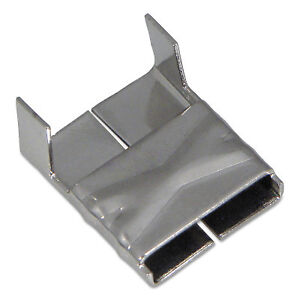 Valuclip Strapping Clips 3 4 In Stainless Steel
