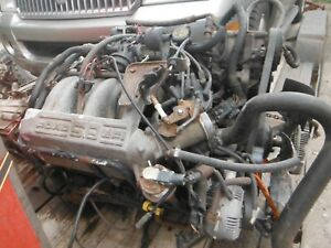 88 98 Ford 5 8 351 Low Mileage Complete Engine No Core Will Ship