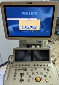 Philips Ie33 Cardio Vascular W 2 Probes S5 L9 Ultrasound Unit