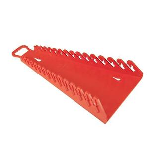 Ernst Manufacturing Gripper Reverse Wrench Organizer 15 Tool Red