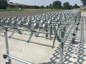 Nesteflex 30 Flexible Expandable Power Roll Conveyor expands To 30 Feet