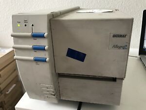 Datamax Allegro 2 Thermal Barcode Label Making Printer Power Tested