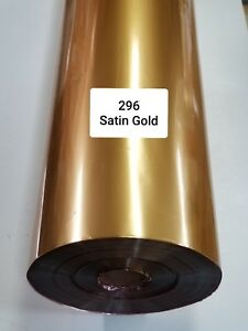 Hot Stamping Foil 296 Satin Gold 24 In X 1000 Ft Propiusa