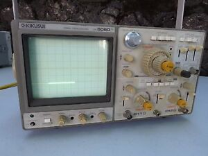 Kikusui 60 Mhz 3 channel Oscilloscope Cos5060 Excellent Pre Owned