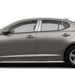 Chrome Pillar Post Covers For 2011 2015 Kia Optima 6 Pieces