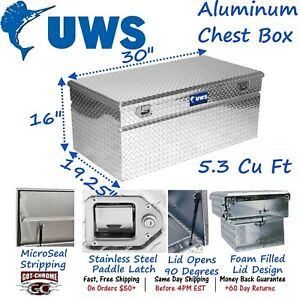 Tbc 30 Uws Aluminum Truck Toolbox Standard Chest Box