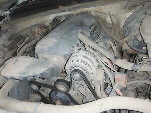 05 07 Gm 4 8 Vortec Ls Engine W Wiring Ecm Complete Takout For Swap No Core