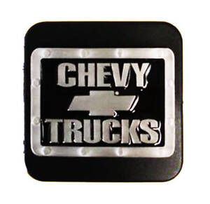 Chevrolet Silver Bowtie Trailer Hitch Cover Fits 2 1 1 4 Receivers