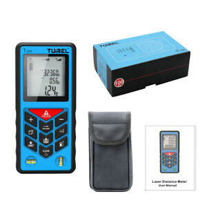 Usa Ship Tuirel100m 328ft Laser Distance Meter Range Finder Measure Instrument