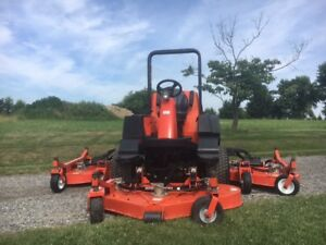 Jacobsen R311 Bat Wing Mower With Kubota Diesel