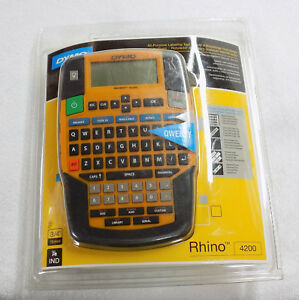 Dymo Rhino 4200 Label Maker New Sealed 1801611