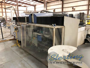 6 X 12 Used Flow Cnc Water Jet Cutting System Mdl Sc 6012 A5255