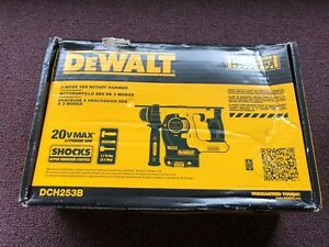 Dewalt Dch253b 18 20v Max Sds Rotary Hammer Tool Only Simular To Dch273b