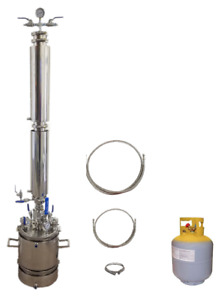 5 Lb Bidirectional Closed Loop Extractor With Solvent Tank Extractor Solutions